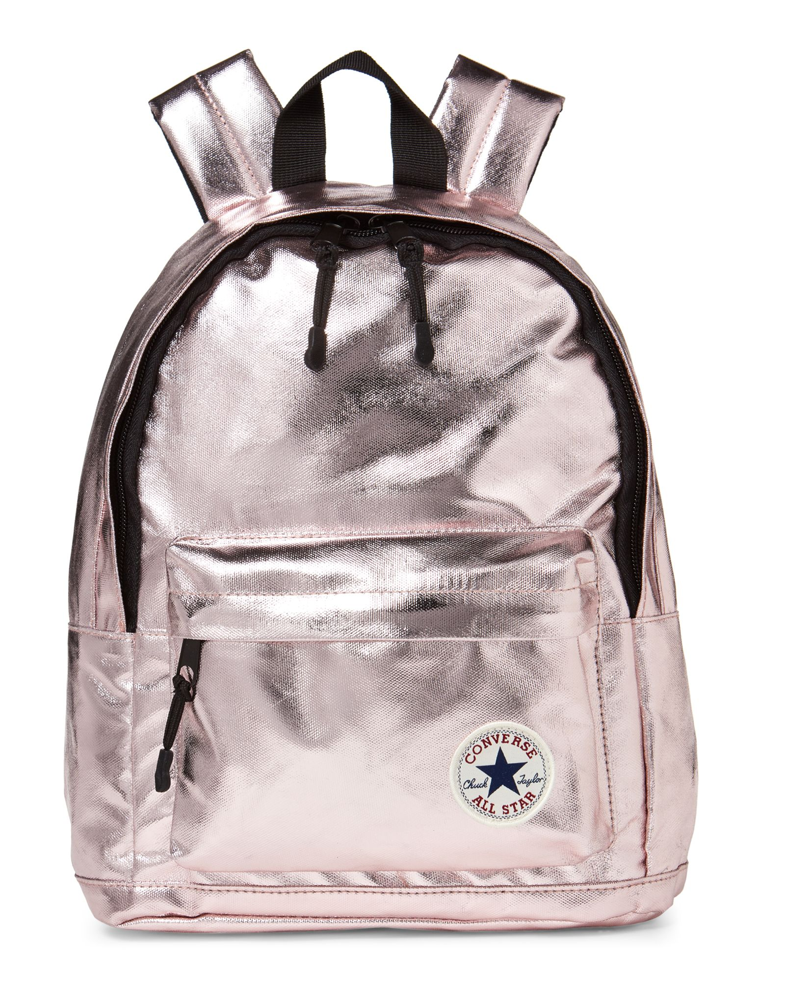 0ad3a3db6fc1 Converse (Girls) Metallic Rose Gold Mini Backpack