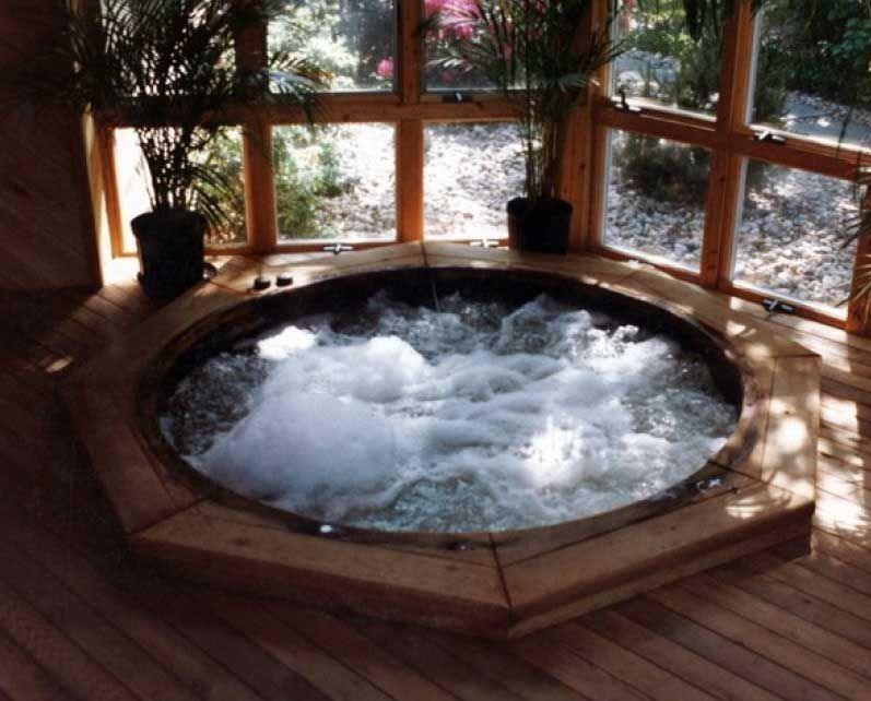 Image Result For Indoor Hot Tub Floor Hot Tub Room Indoor Hot Tub Pool Hot Tub