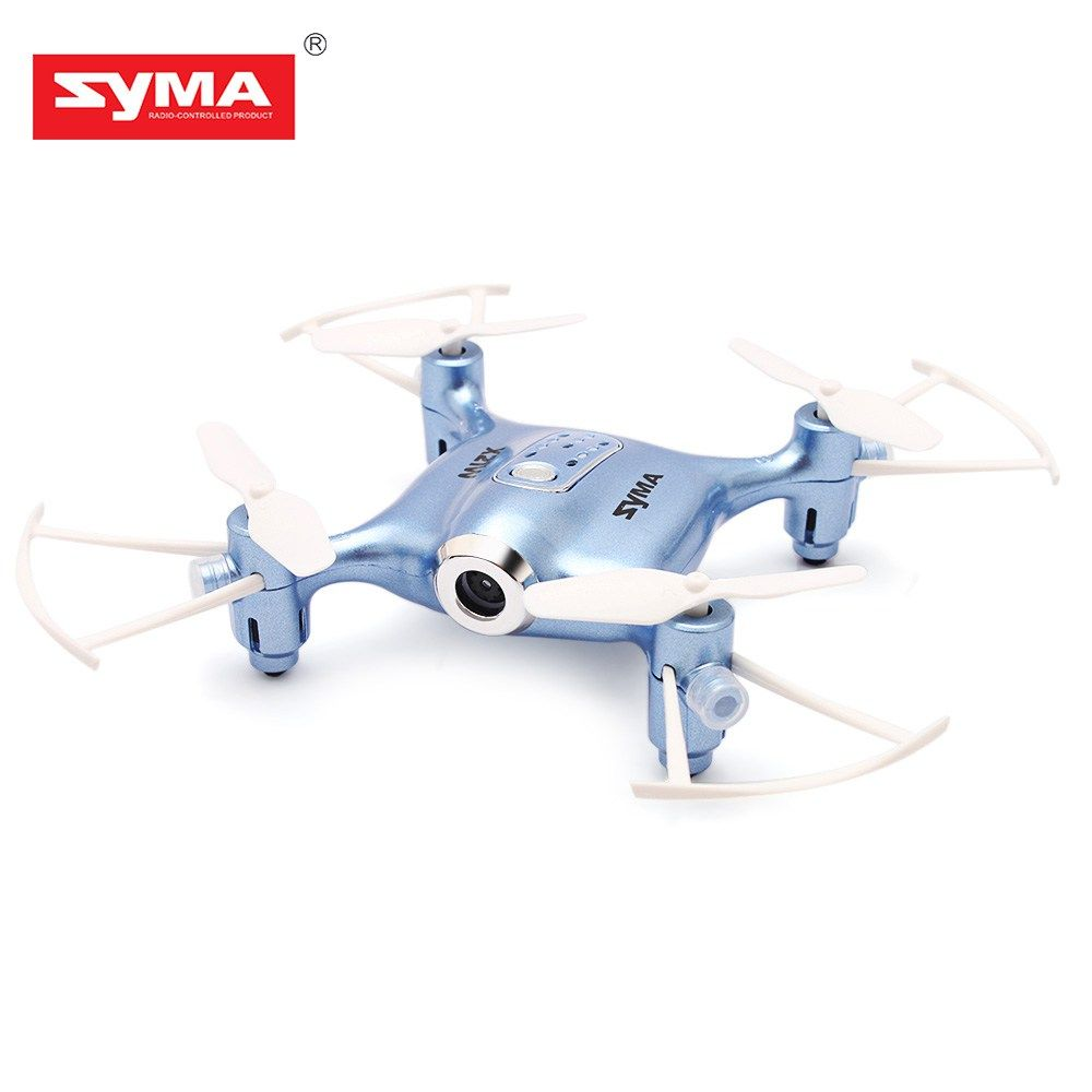 Get It With Price US 4990 SYMA X21W Mini Drone HD Camera WIFI FPV Helicopter