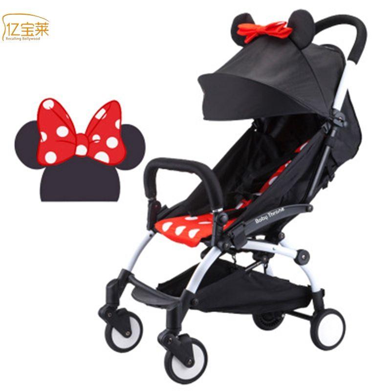 Baby Car Cochecito de bebé Cochecito Plegable Doble