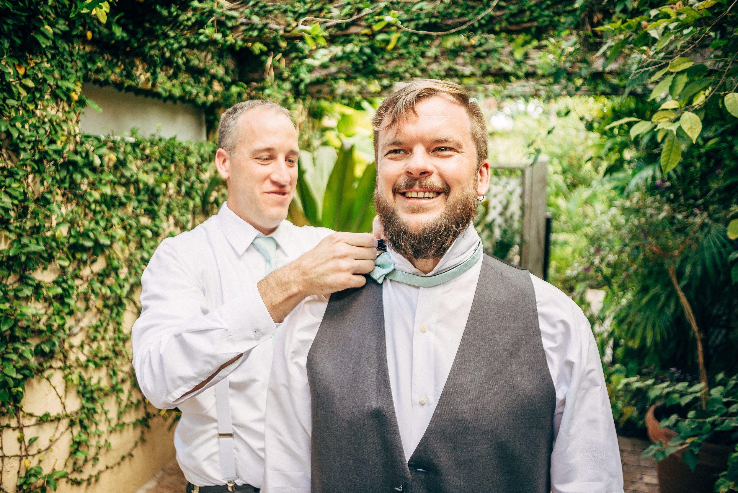 Hotel Escalante Groom getting ready Naples Florida Wedding Photographer // www.StillsByHernan.com