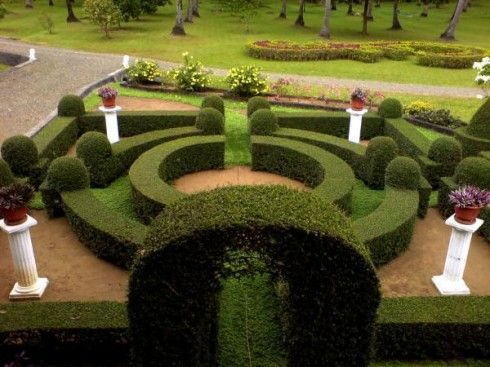 I want a garden big enough to have a maze in it Landscape