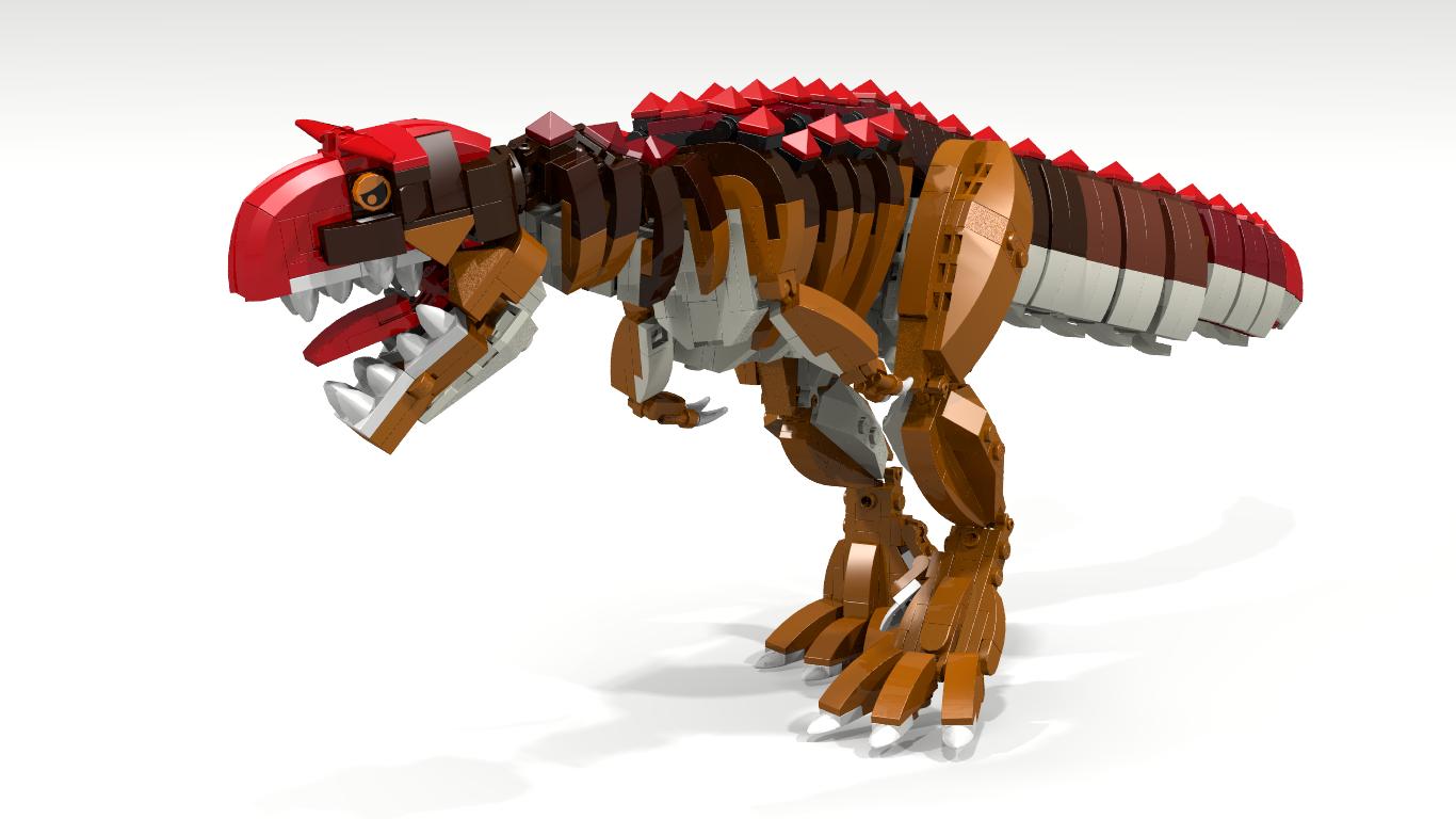 Carnotaurus lego dinosaur lego courage pinterest - Lego dinosaures ...
