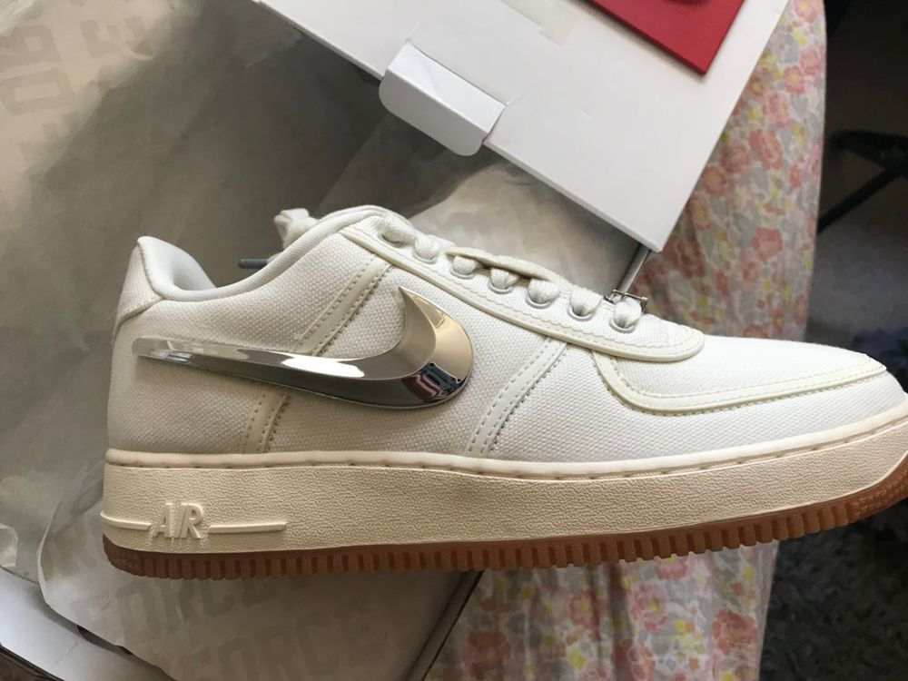 1aecb924fe1a Nike Air Force 1 low Travis Scott size 9  fashion  clothing  shoes   accessories  mensshoes  athleticshoes