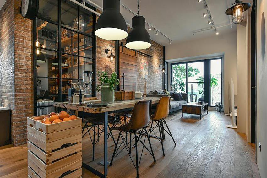 新北 25 坪工業風粗獷木質公寓 Decomyplace 新聞 Rustic Interiors Chic Living Room Decor Industrial Chic Decor