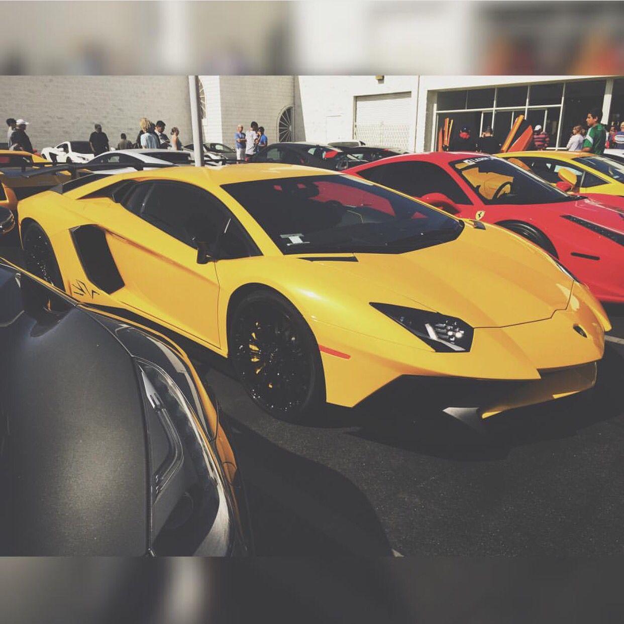 Lamborghini Aventador Super Veloce Painted In Giallo