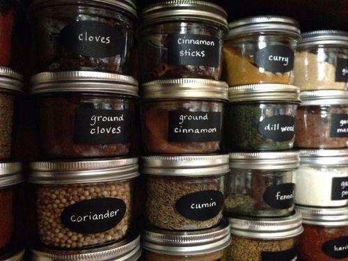 Share 8 November 2013 Seamless Spice Storage Spice