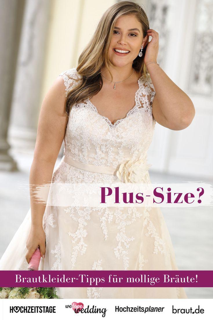 Plus-Size Brautkleider in großen Größen für die kurvige ...