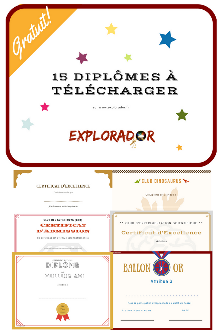 Fichiers Vip Explorador Diplome Gratuit Modeles De Certificats Diplome Vierge