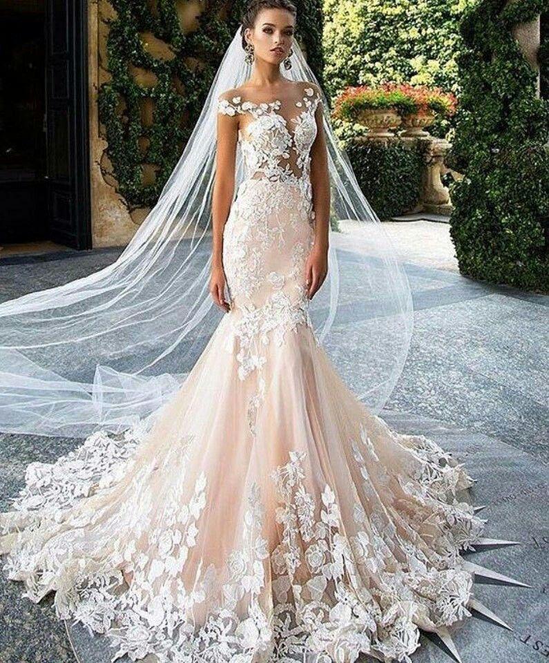 Pin by Svetlana on мода | Pinterest | Wedding dress, Wedding and Wedding