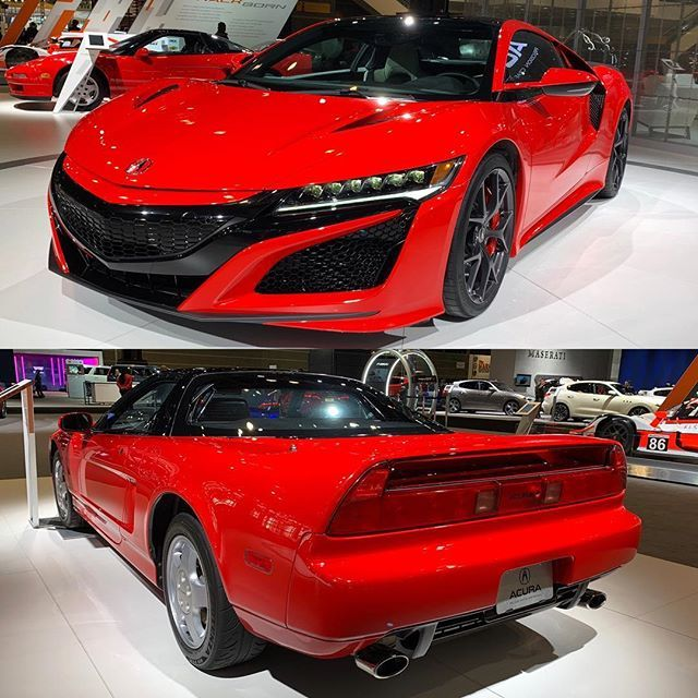 Aging Like Fine @acura. You Old-school Or New-school NSX