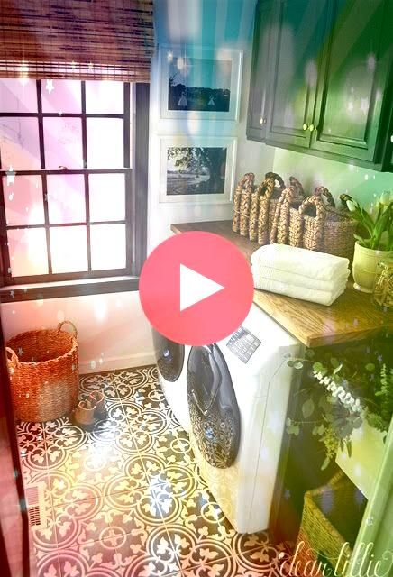 Tiny Laundry Room Inspiration for the teeny tiny laundry room owner Just   Home  Teeny Tiny Laundry Room Inspiration for the teeny tiny laundry room owner Just   Home  Re...