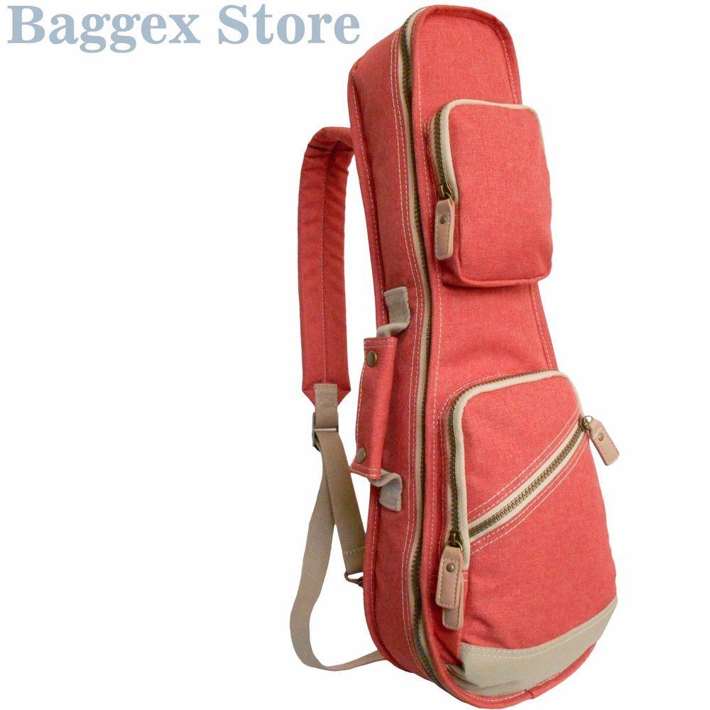 "21"" Soprano Ukulele Gig Bag Slim Fit Stylish Polyester String Instrument Case #BaggexStore"