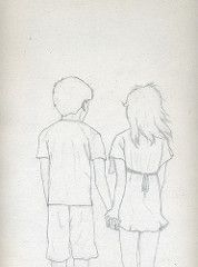 Girl And Boy Holding Hands Drawing : holding, hands, drawing, Holding, Hands, Drawing, World's, Photos, Hands,, Drawing,, Drawings