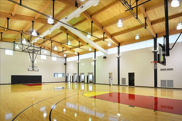 For Just 29 Million You Can Own Michael Jordan S Suburban Chicago Estate Indoor Basketball Court Outdoor Basketball Court Celebrity Houses