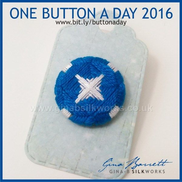 Day 192: Starlight #onebuttonaday by Gina Barrett