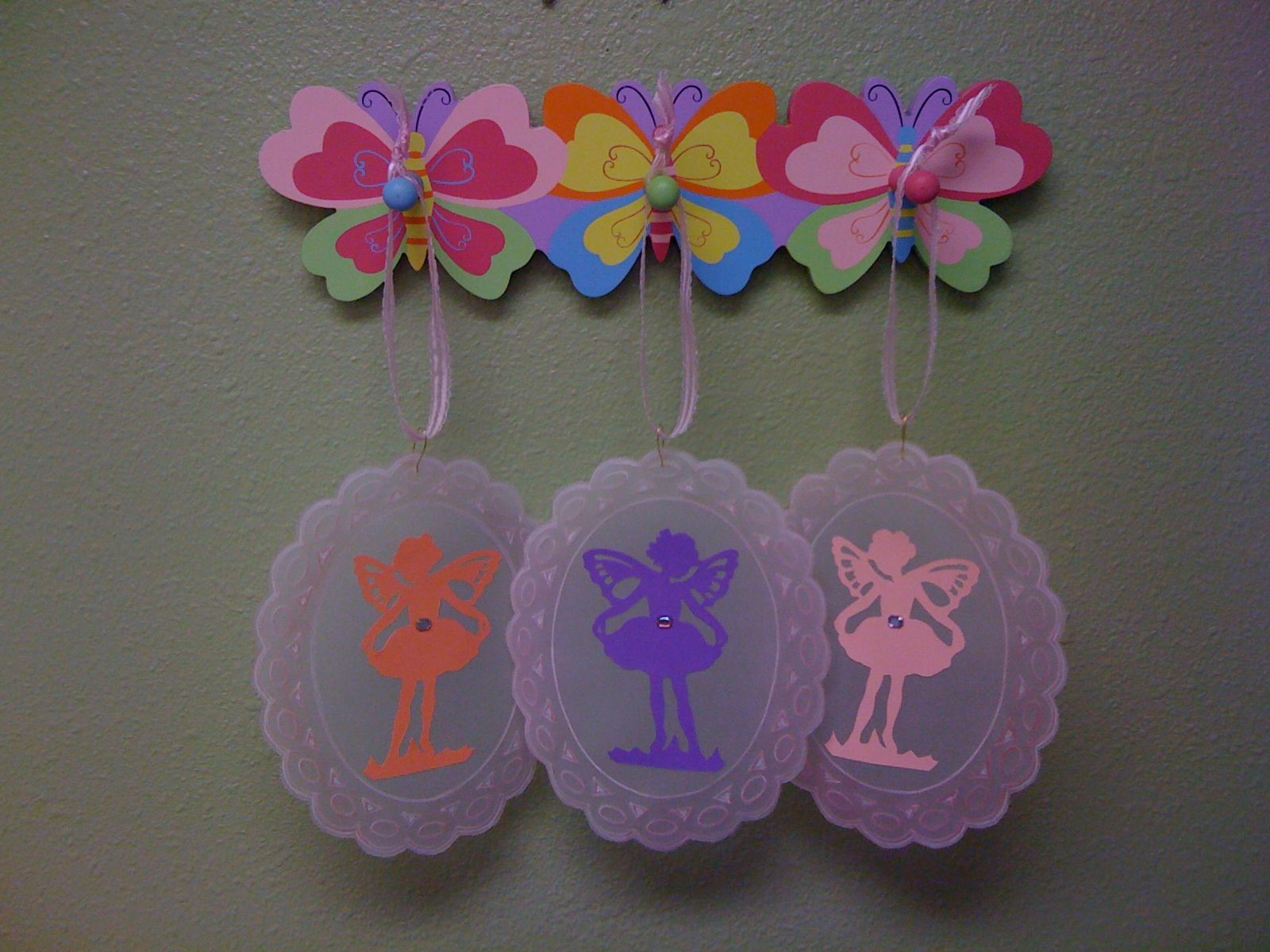 These are are fairies which I made!!