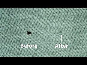 Löcher Stopfen / Löcher nähen | Quicktipp's für Nähanfänger #4 - YouTube #sewins