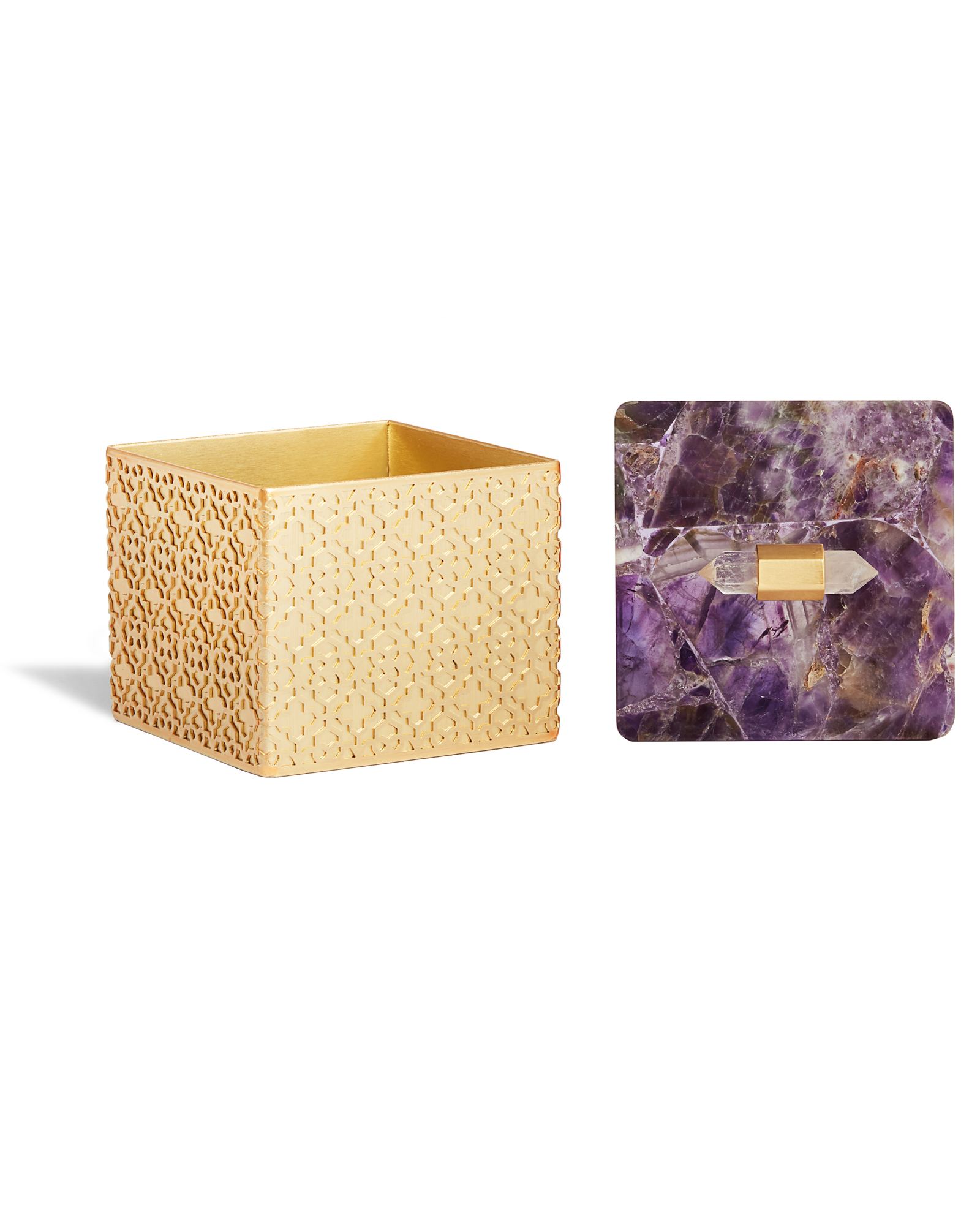 Square Filigree Box in Chevron Amethyst | Decor | Pinterest | Home ...