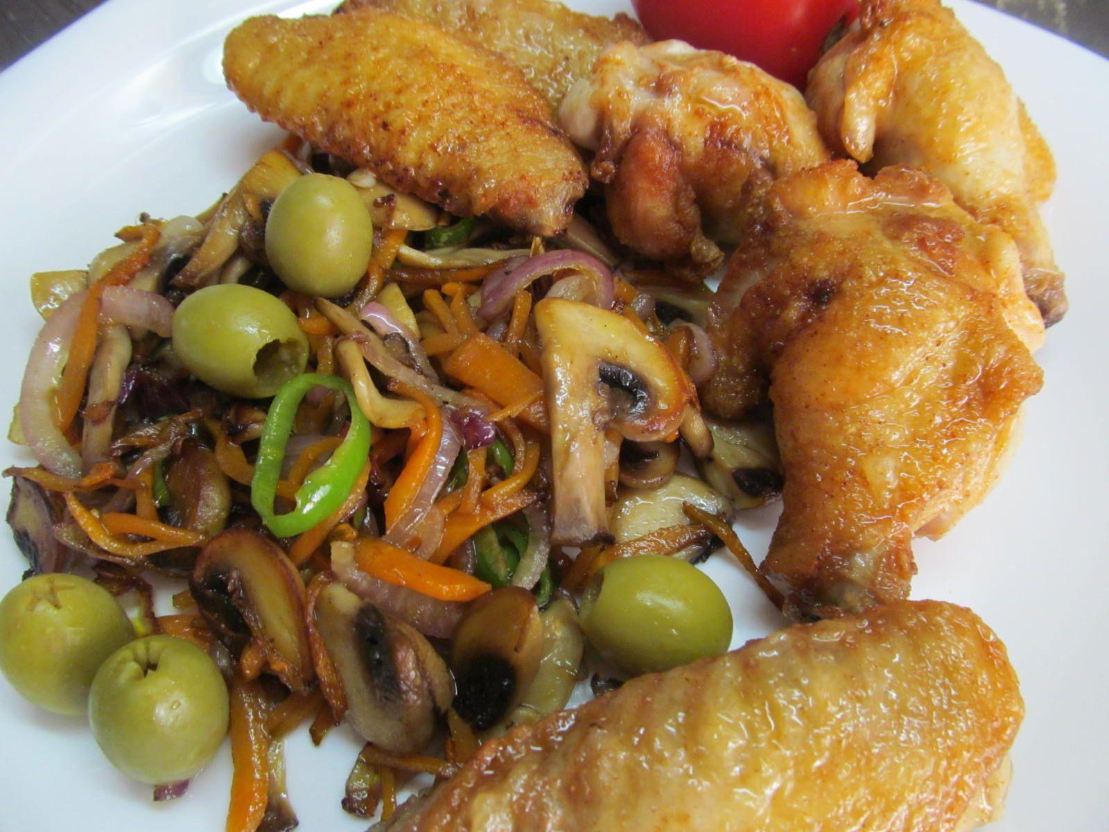 Куриные крылья | Рецепт | Идеи для блюд, Домашний рецепт ...