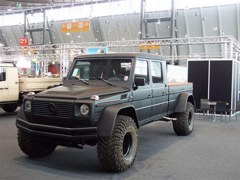 Monster Mercedes Benz G Wagen Pick Truck Conversion Mercedes G