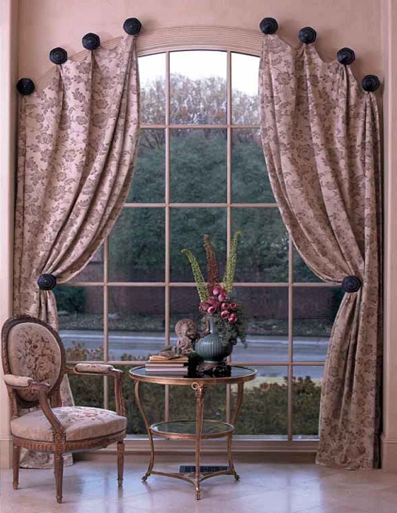Custom window treatments for arched windows - Find This Pin And More On Window Covering Ideas