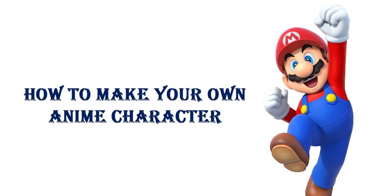 How to make your own anime character httpwww