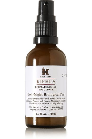 Kiehl's Since 1851 - Transform the look and feel of skin while you sleep with Kiehl's concentrated overnight peel. #Kiehls