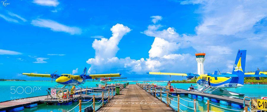 Sea Plane Airport by KetanMahadeshwar Transportation Photography #InfluentialLime