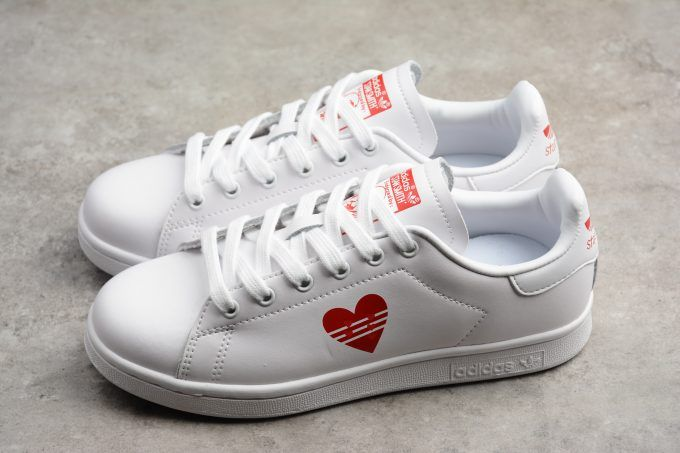 ddab7b52a862 adidas Stan Smith Valentine s Day White Red Limited Edition G2783916 On  Sale-2