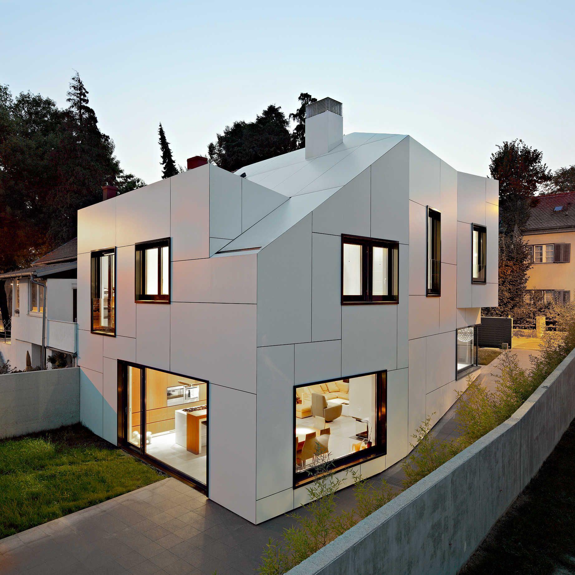 Trespa gevel | Syren - Dächer + Materialien | Pinterest | Moderne ...