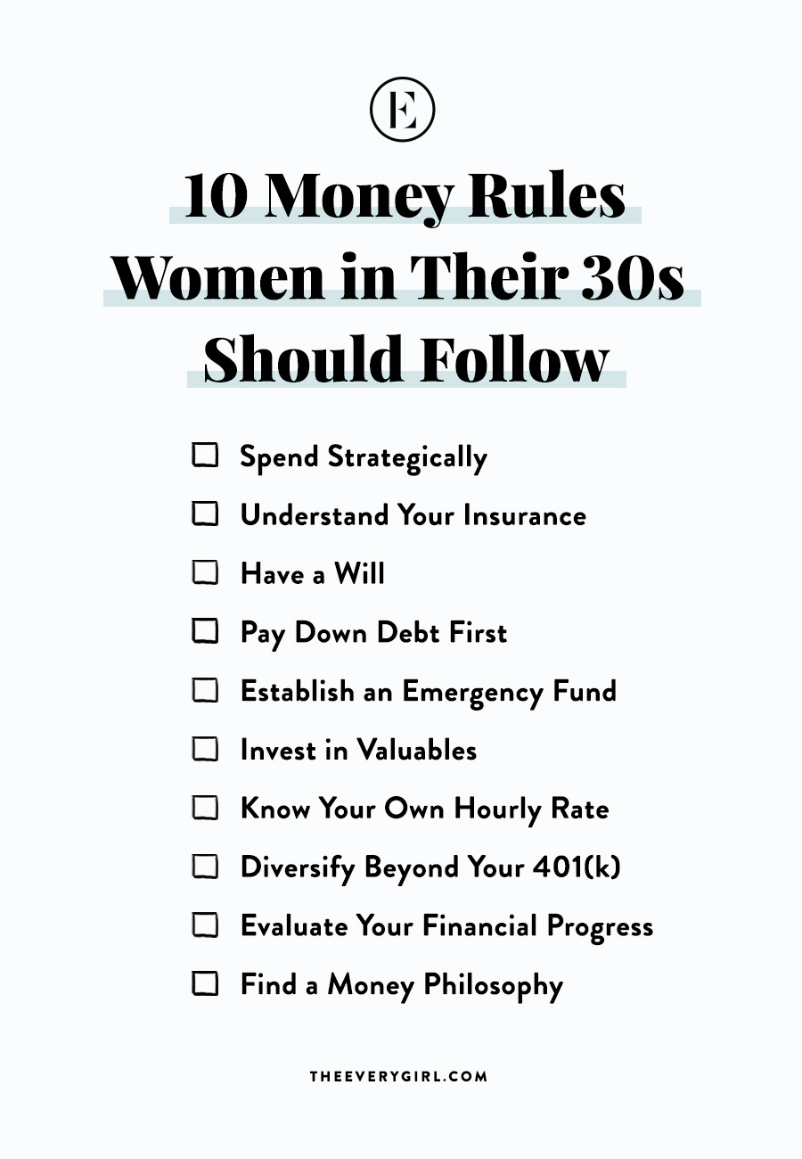 10 Money Rules Women In Their 30s Should Follow In 2020