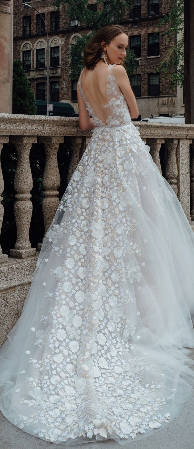 Wedding Dress Inspiration – Mira Zwillinger Autumn/Winter 2019 Queen of Ice Bridal Collection
