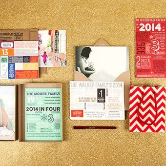 Beautiful Year In Review Photo Holiday Cards