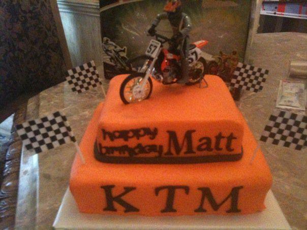 Dirt Cake Birthday Cake
