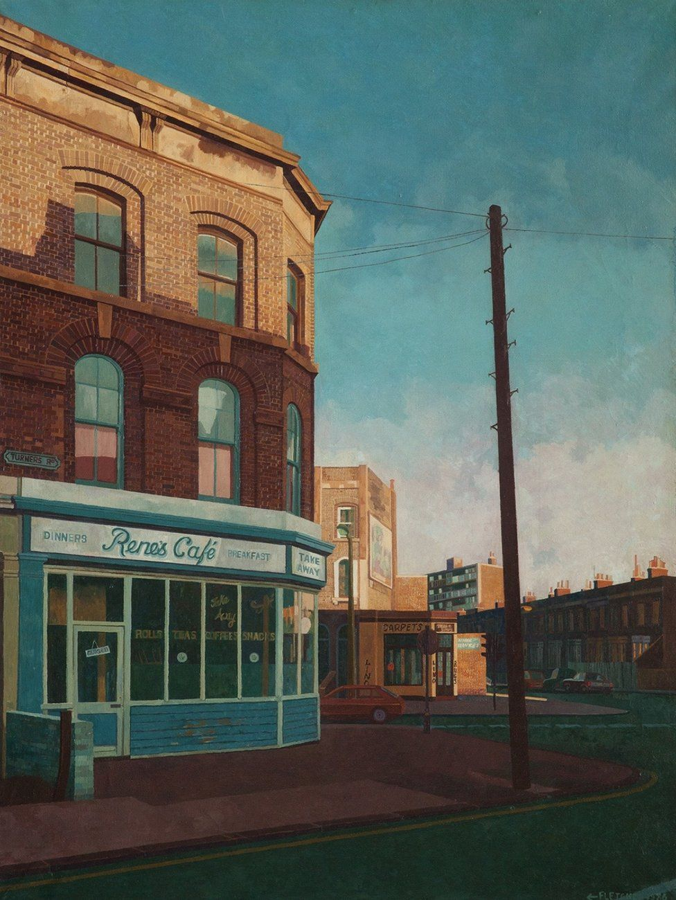 East End London: Unseen Paintings Of London's East End (With Images