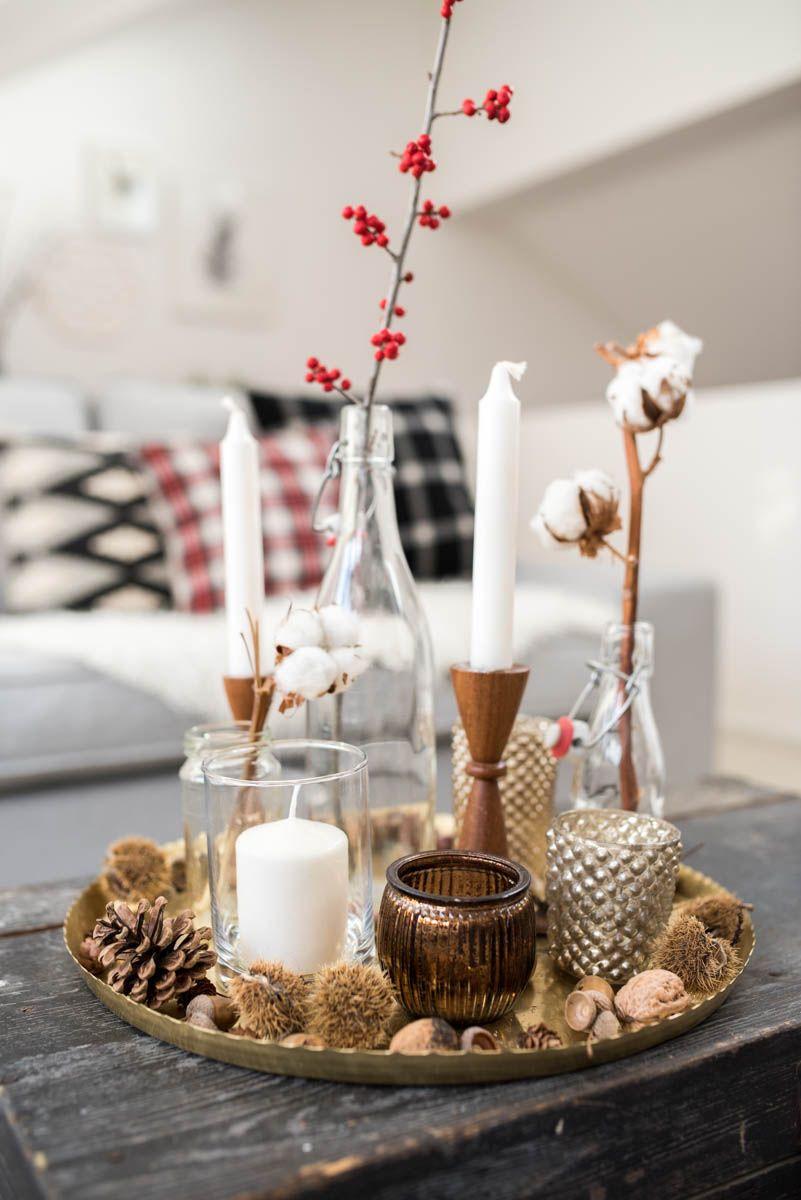 Winterwohnzimmer Home Christmas Decorations Christmas Decor