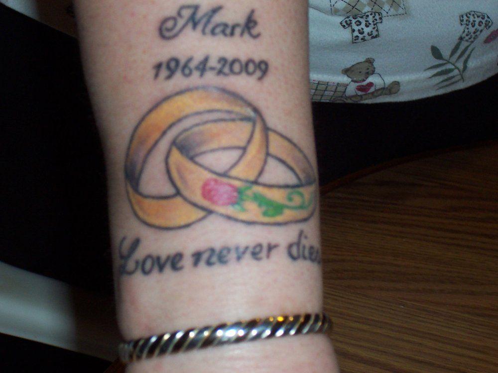 image result for tattoo in memory of husband memorial tattoos pinterest tattoo memorial. Black Bedroom Furniture Sets. Home Design Ideas