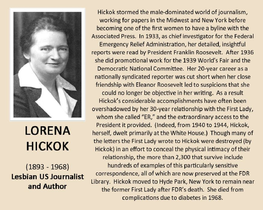 Http Www Legacyprojectchicago Org Lorena Hickok Imag001 Jpg Genealogy History Interesting History Administration
