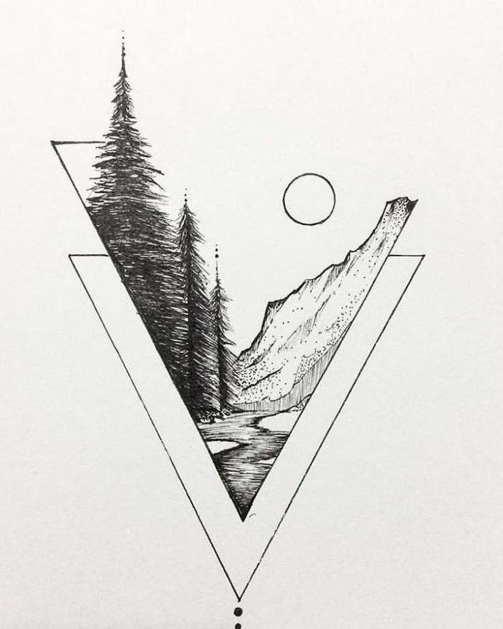 It S All Relative Art Illustration Drawing Draw Envywear Pizlo Pin Art Drawings Simple Geometric Art Tattoo Images