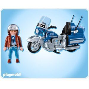 Playmobil 5114 - Touring Motorcycle with Rider