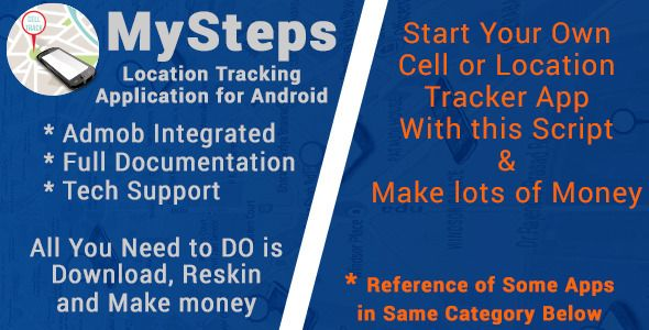 MySteps with AdMob Code-Scripts-and-Plugins Pinterest
