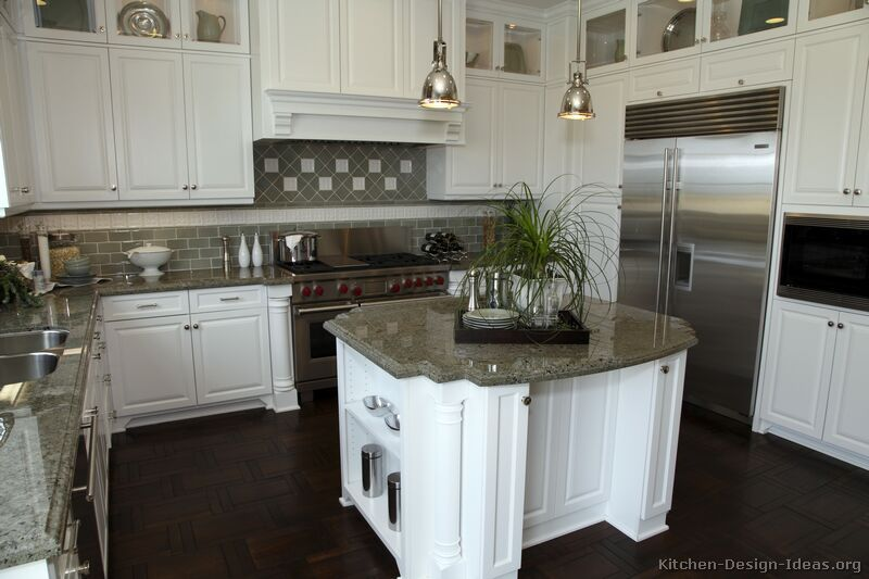 Top 25 ideas about White Kitchens on Pinterest   Modern kitchen cabinets,  Countertops and Cabinets