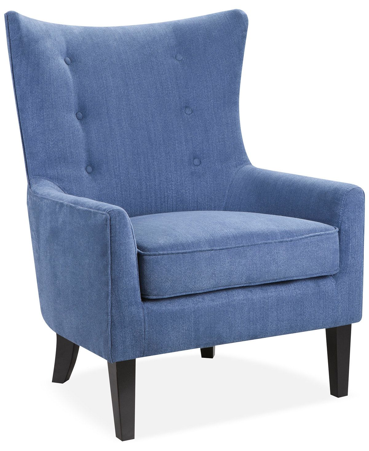 Furniture Brie Printed Fabric Accent Chair Reviews Chairs
