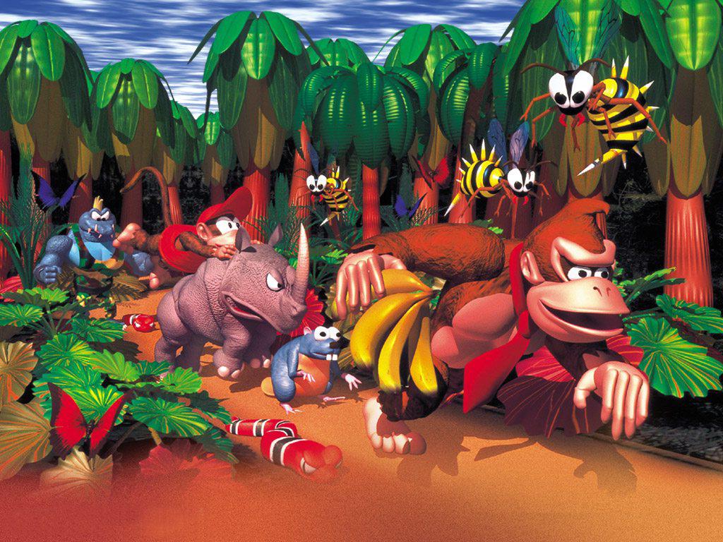 Donkey Kong Country Rareware And Nintendo Donkey Kong Country Donkey Kong Donkey Kong Junior