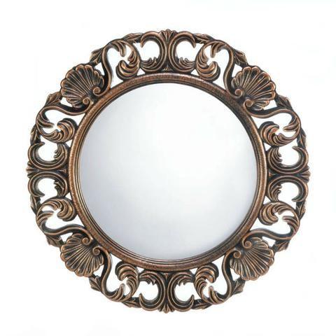 Heirloom Round Wall Mirror Round Wall Mirror Mirror Wall Collage
