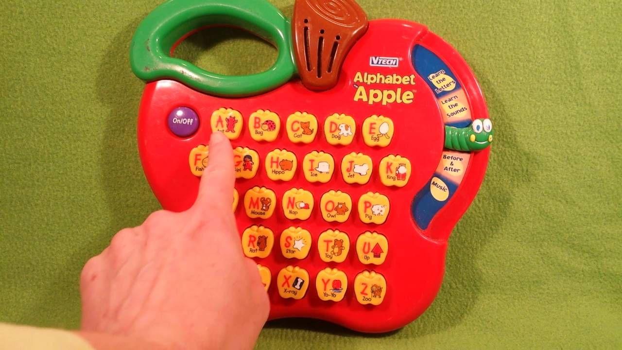 Alphabet Learning Toys : Vtech little smart alphabet apple learning toy katrina s toy