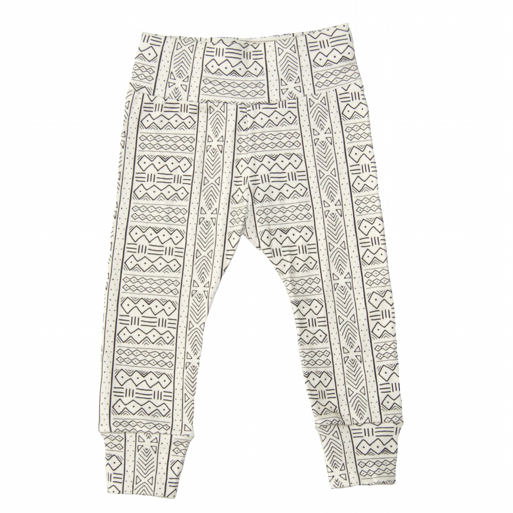 6c32fafb1fa8 Trendy Bubs Organic Leggings - Mudcloth   Tenth and Pine – Tenth & Pine.  Baby boy girl toddler African tribal print leggings. Baby shower gift ideas