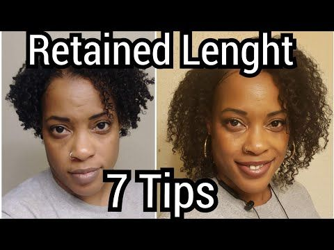 7 Tips How I Retained Length Tutorial � Fine Natural Hair � Protective Style/Natural Hair Journey