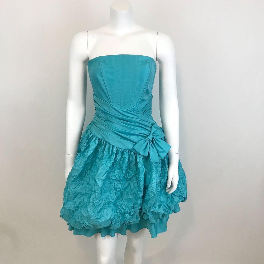 Details about jessica mcclintock vintage us prom dress sz